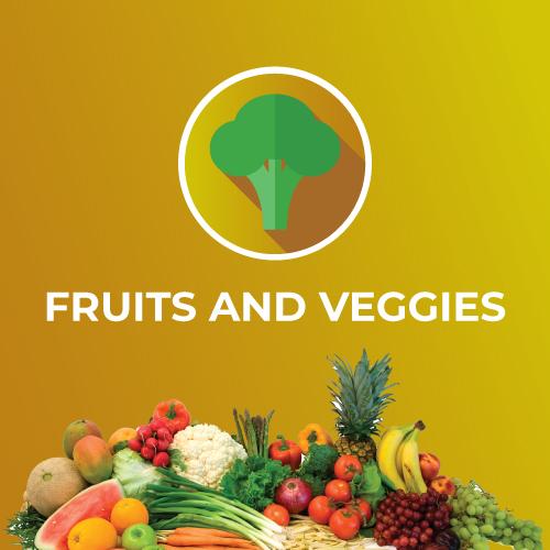 Fruits and Veggies Image
